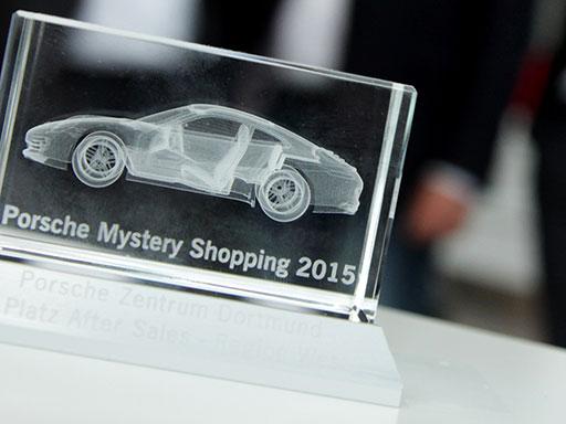 Porsche Mystery Shopping Award 2015
